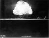 Trinity nuclear bomb test
