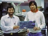 Wozniak and Jobs on the line at Apple, 1977