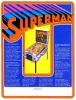 Flyer for Superman pinball game, Atari 1979