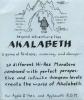 Insert sheet for original Akalabeth packaging