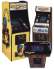 Various Pac-Man cabinets