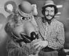 Chuck. E. Cheese and Nolan Bushnell, 1978.