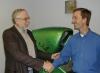 Bushnell with Pete Ashdown, University of Utah 2002