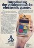 Magazine ad for Touch Me, Atari 1978