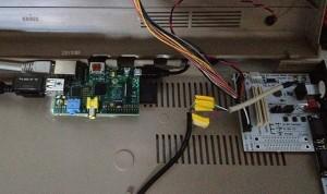 Keyrah v2 mit Raspberry Pi im C64 Gehäuse