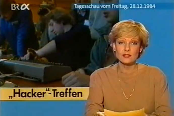 CCC 1984, Tagesschau vom 28.12.1984