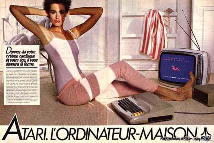 Bild des Tages: Atari 800 Sport