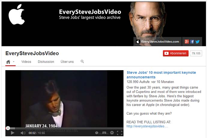Every Steve Jobs Video
