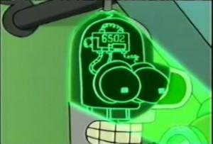 Bender / Futurama / 6502