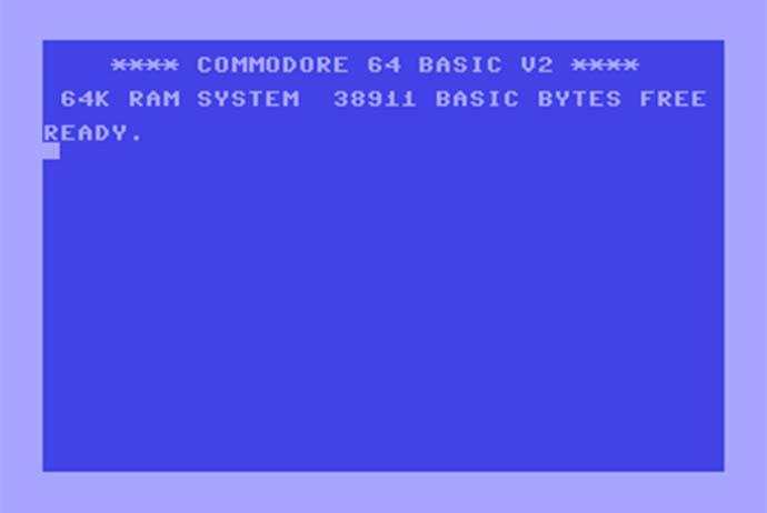 C64 Bildschirm