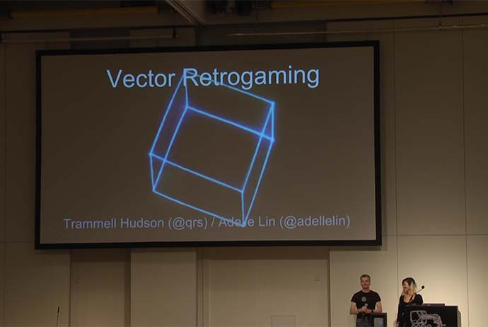 32C3: Vector retrogaming