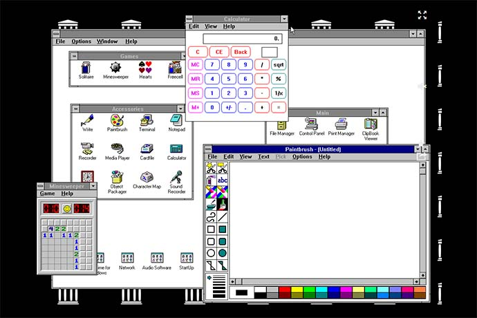 Windows 3.11 - Archive.org