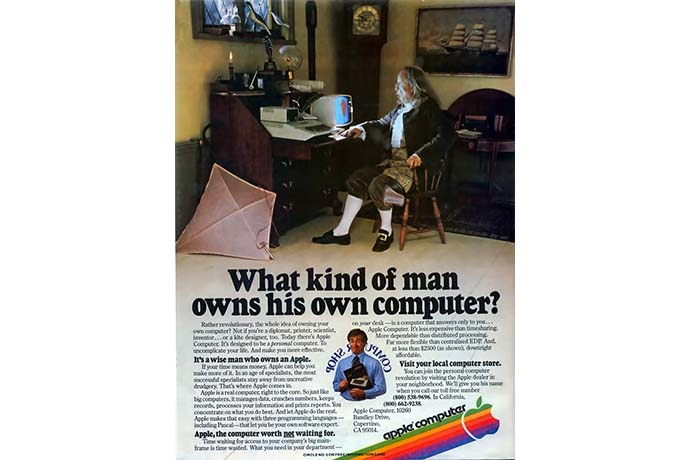 What kind of man owns his own computer, 1978
