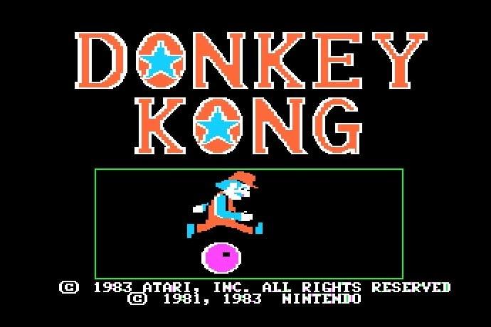 JSMESS - Donkey Kong