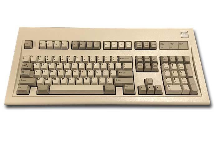 IBM Model M, CC-PD Raymangold22
