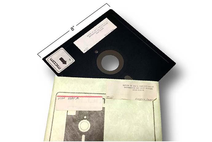8-Zoll Floppy Disk, GAO-16-468
