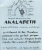 Insert sheet for original Akalabeth packaging