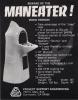 Video Terror! Flyer for PSE's Maneater!