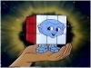 Pac's little buddy Rubik, one amazing cube