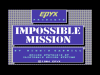 Impossible Mission title screen, C64