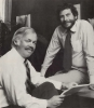 Joe Keenan and Nolan Bushnell, 1982