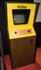 PONG cabinet, Atari 1972