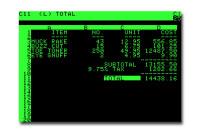 Vor 40 Jahren erscheint die erste Tabellenkalkulation VisiCalc