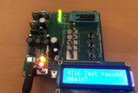 Speichertester für DRAM Chips für Arduino Mega 2560 (Rev. 4)